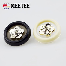 50 pcs High-grade plastic button black lion retro combination coat casual clothes buttons