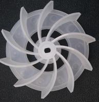 Części wentylatora komputer dmuchawa do czyszczenia kurzu wachlarz z tworzywa sztucznego ostrze 6X8mm otwór o średnicy 10.5cm w Części wentylatora od AGD na