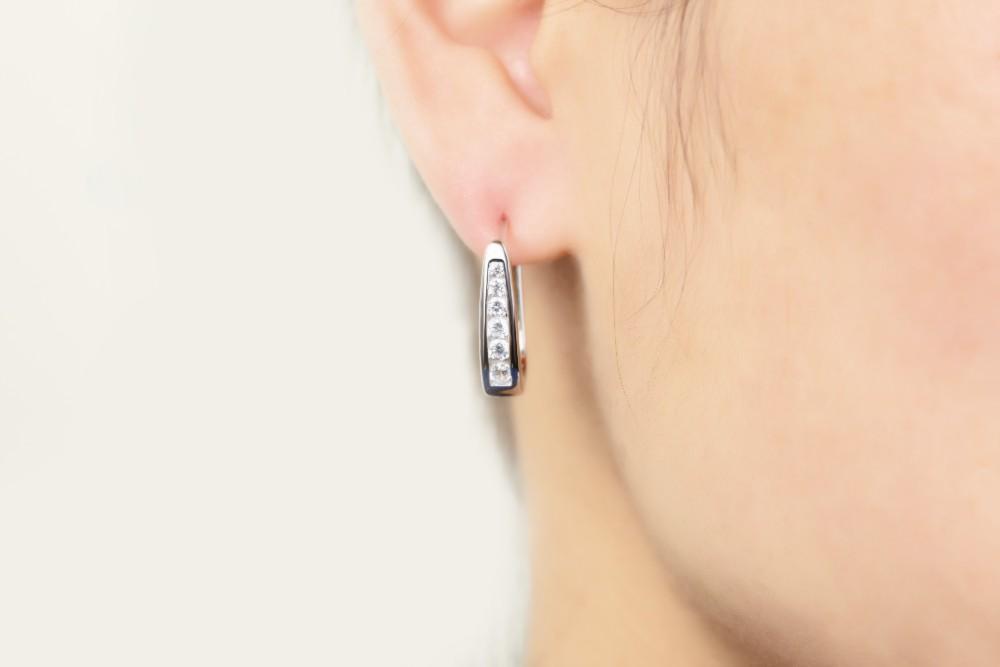 sterling silver,for 925 silver earrings DE33420A (5)