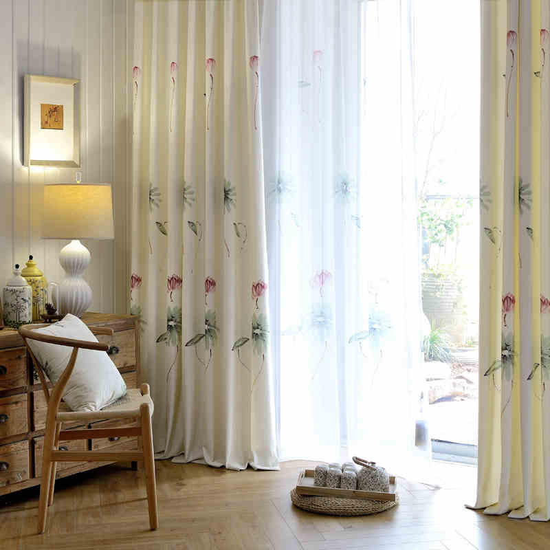 Huayin Velvet Linen Curtains Tulle Window Curtain For: Velvet Drapes Blackout Curtains And Tulle Window Curtains
