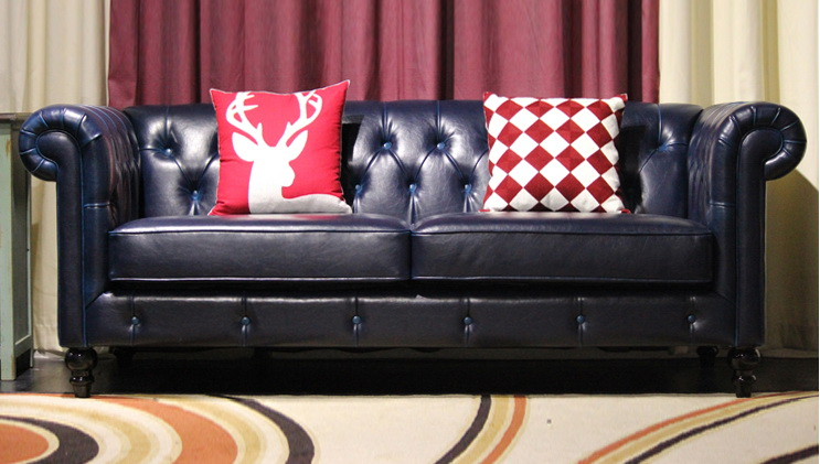 Magnificent Us 843 6 5 Off Top Graded Cow Real Genuine Leather Sofa Sectional Living Room Sofa Home Furniture Couch 3 Seater American Style Leather Buttons In Gmtry Best Dining Table And Chair Ideas Images Gmtryco