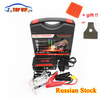 600A Auto Jump Starter Emergency 12 V Uitgangspunt Apparaat 4USB SOS Licht Mobiele Power Bank Autolader Voor Auto Batterij Booster