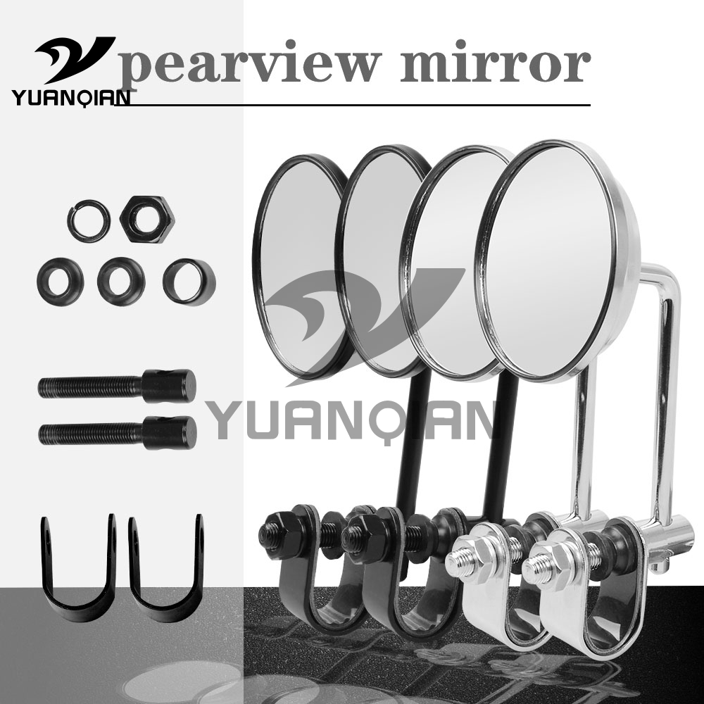 Universal motorcyle Billet Aluminum+iron Mirror Motorbike Side rearview mirror For Yamaha YZF-R1M YZF-R1S YZF-R3 ABS YZF-R6