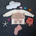 Baby Girl Sweater Knitted Elephant Autumn Winter Toddler Cartoon Sweater Fashion Cute Infant Boys Girls Cotton Knitting Sweater