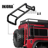 INJORA RC Car Metal Mini Stairs Ladder Accessories for Traxxas TRX4 TRX-4 Bronco SCX10 SCX10 II 90046 90047 1/10 RC Crawler