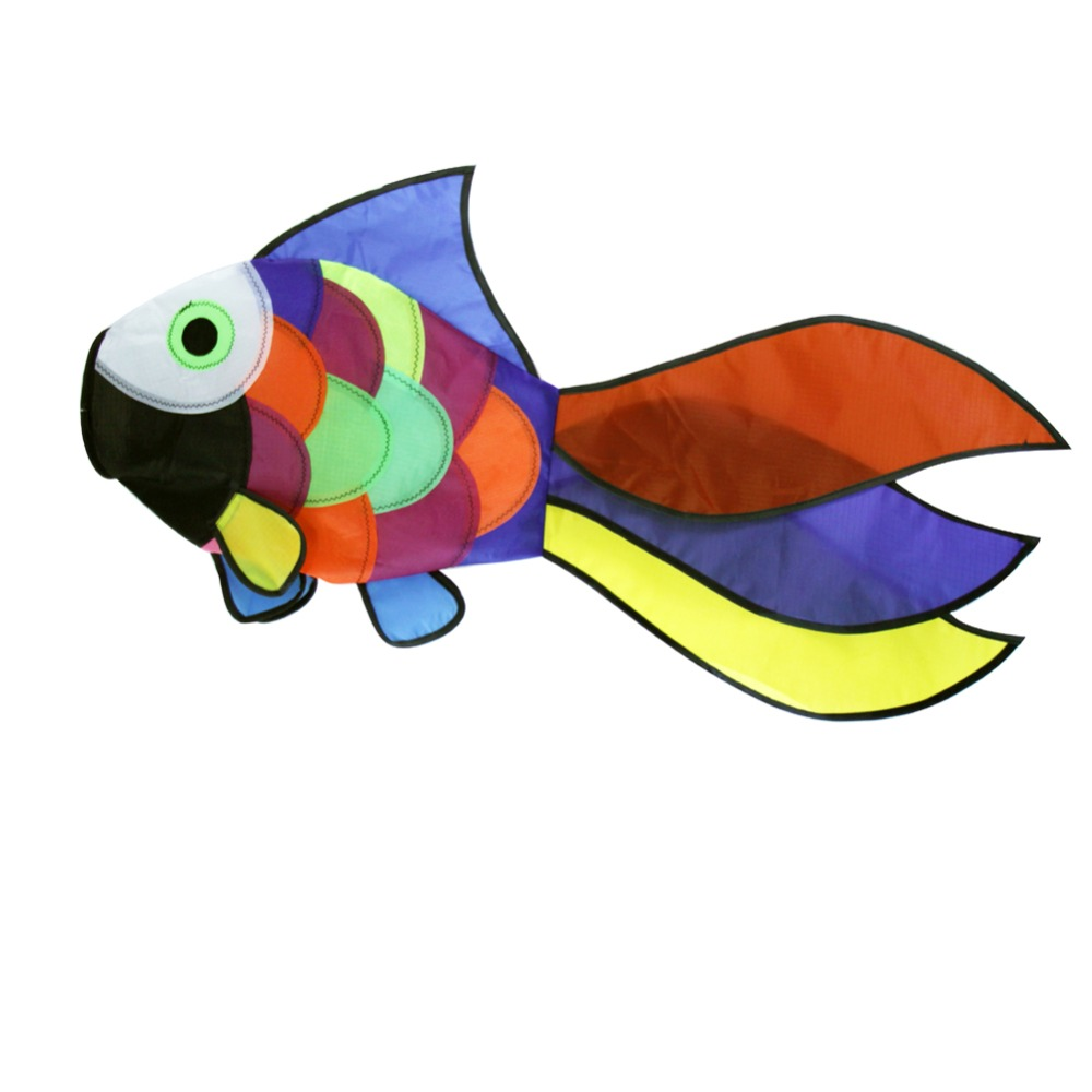 Նոր ծիածան ձկների ուրուր Windsock բացօթյա - Արտաքին զվարճանք և սպորտ - Լուսանկար 6