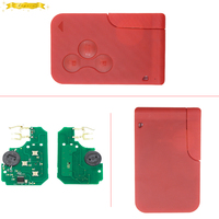 KEYECU High Quality Remote Key For Renault Megane Smart Card 3 Button With Insert Small Key