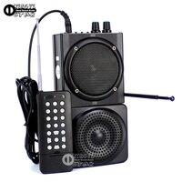 48 W 500 M Telecomando Uccello Chiamante Caccia Decoy Anatra Quaglia Caccia Lettore MP3 Elettronico Trappola USB Amplificatore Con Altoparlante esterno