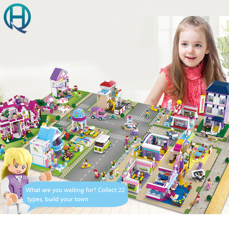 Sluban Girls Friend Luxury spree Home Building Blocks Plastic Toys of Children's Early Education Series Over the Age of 6 education of disadvantaged girls