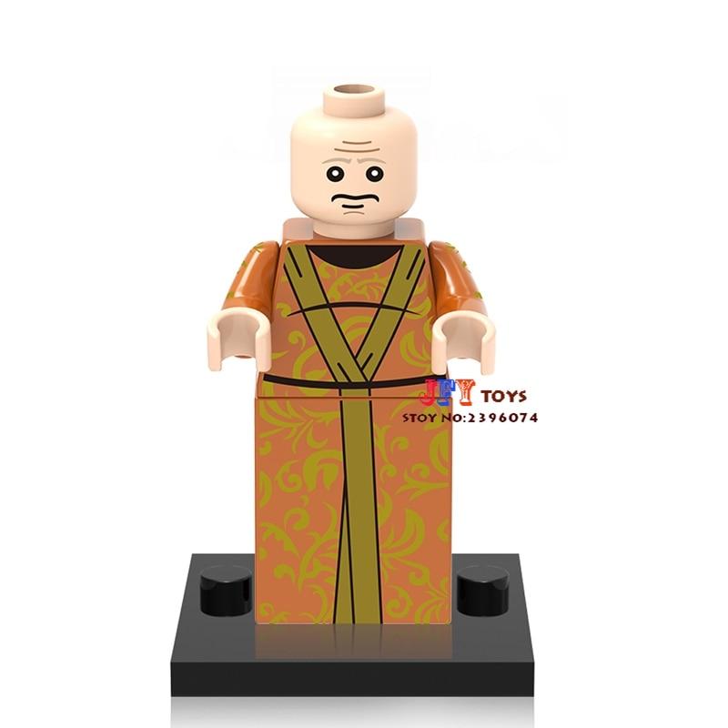 Single Sale star wars super hero marvel Game of Thrones TV Varys building blocks model Gift toys for children brinquedos menino