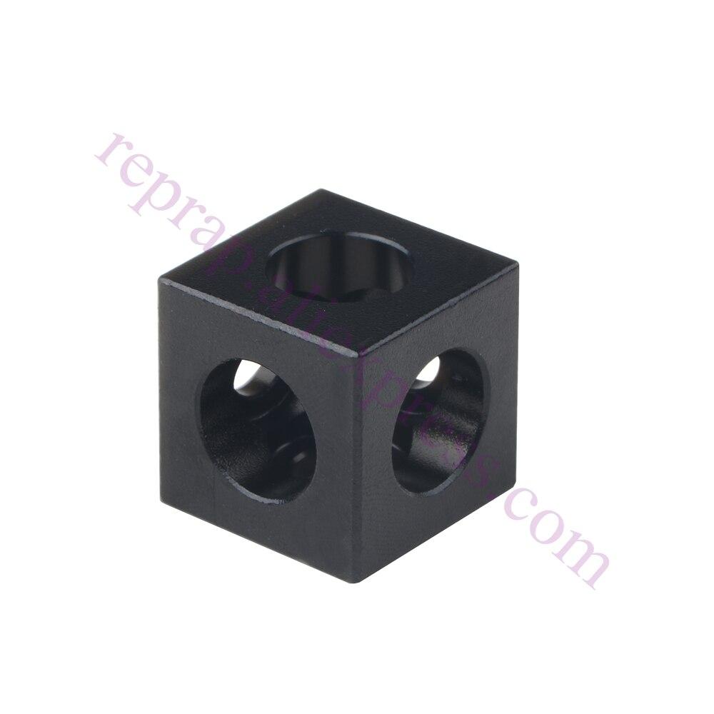 10pcs Openbuilds Cube Corner Connector Bracket Three Way Cube ...