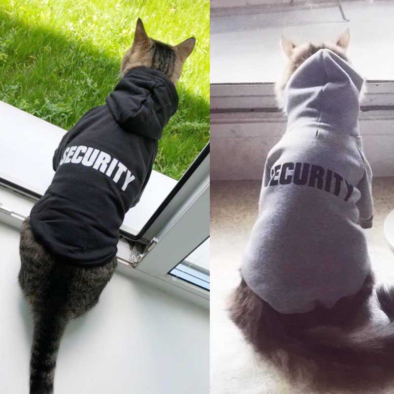 Di sicurezza del Gatto Dell'animale Domestico Gatto Cappotti Giacca Felpe Per Gatti Vestito Caldo Pet Abbigliamento Coniglio Animali Da Compagnia Costume per I Cani 20