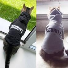 Sicurezza abbigliamento per gatti Pet Cat cappotti giacca felpe con cappuccio per gatti Outfit abbigliamento per animali domestici caldo coniglio animali Costume da compagnia per cani 30