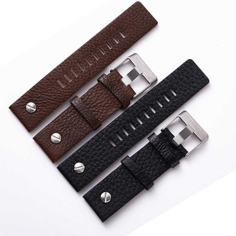 جديد ساعة ذات تصميم رائع اكسسوارات حزام (استيك) ساعة ل الديزل Watchbands 22 ملليمتر 24 ملليمتر 26 ملليمتر 28 ملليمتر الرجعية حزام ساعة اليد سوار