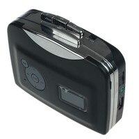 Высокое качество Звука Портативный Кассеты Аудио Mp3-плеер Формат Конвертер для USB Flash Drive + Наушники Бесплатная Доставка H3T29