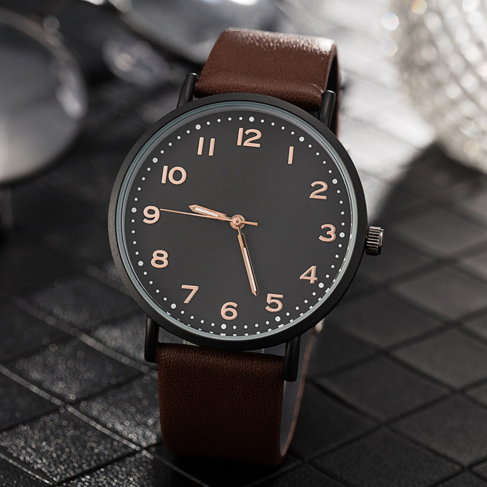 BGG Luxury Brand Mens Luminous Casual Watch genuine leather Quartz Watch Men male sports Wristwatch male Business clock Hours bgg luxury brand casual mens watches creative black leather quartz watch men male simple wristwatch business clock hours relojes