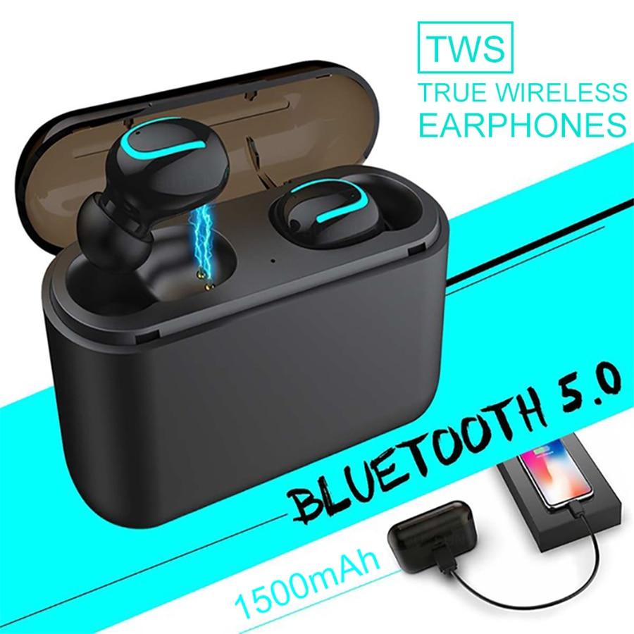 TWS Bluetooth Earphones Mini Wireless Blutooth Earphone Hands free Sport IPX5 Waterproof Earbuds Gaming Headset PK i10 i12 i9s