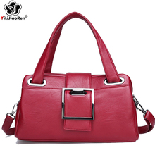 Купить с кэшбэком Fashion Sequined Ladies Hand Bags Designer Shoulder Bag Female Brand Leather Tote Simple Crossbody Bags for Women Clutch Purse