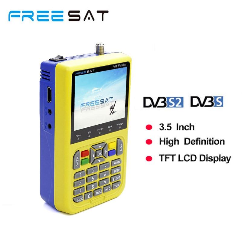 Freesat v8 finder DVB-S2 digital finder 3.5 inch LCD MPEG-2/MPEG4 compliant digital satFinder VS satellite Finder satlink ws6906 freesat v8 finder dvb s2 digital finder 3 5 inch lcd mpeg 2 mpeg4 compliant digital satfinder vs satellite finder satlink ws6906