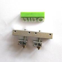 2 extremidades quentes e 1 bloco de montagem para impressora bibo 3d (versão a)