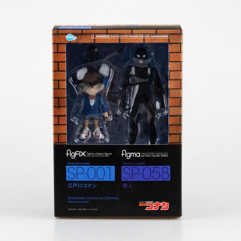 Anime Detective Conan FigFIX SP-001 Figma SP-058 PVC Action Figure Collectible Model Toy 14cm With Box цена 2016