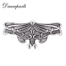 Dawapara Women Or Girls Eagle Elegant Barrettes Handmade Hair Bows  Antique Silver/Antique Gold Hair Stick Accessories Hairpin
