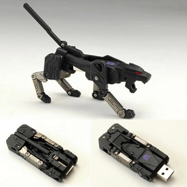 Clé USB Panthère Transformeur 64/8/16/32 Bg – USB 3.0