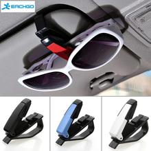 Auto Fastener ABS Car Vehicle Sun Visor Sunglasses Eyeglasses Glasses Holder Card Ticket Pen Clip Automotive Accessories