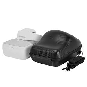 Image 2 - DJI Goggles VR Glasses Storage Bag Case Portable Handbag Dedicated Accessories Bags Package Upscale Shoulder Bag travel bag