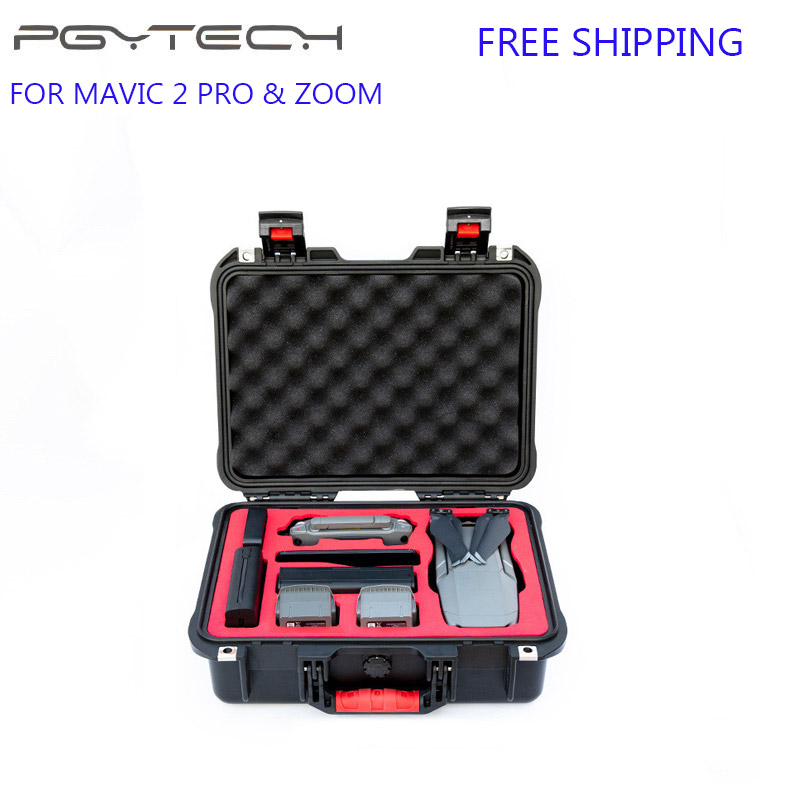 PGYTECH Waterproof Case DJI Mavic 2 Storage Box Travel Portable Safety Carry Case Mavic 2 Pro