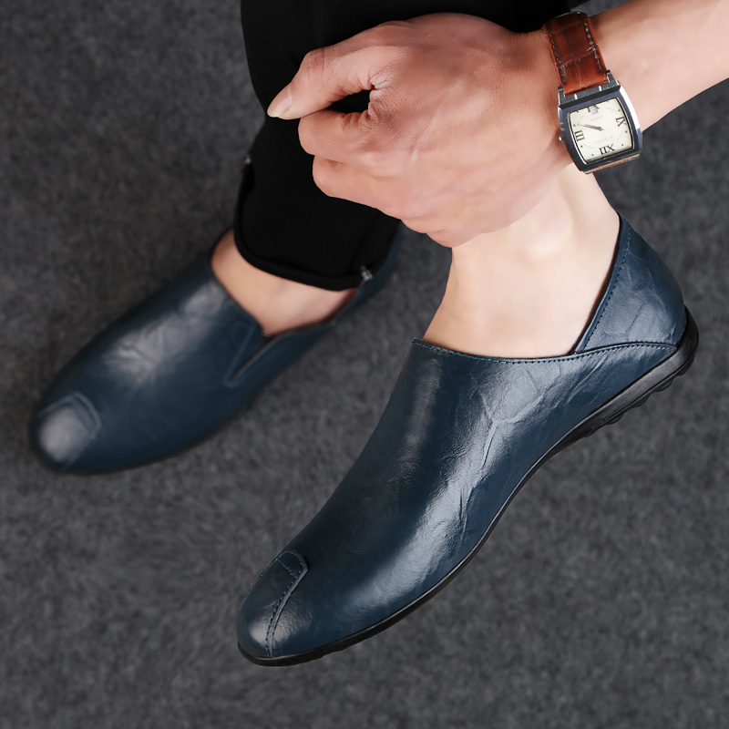2018 new men's casual shoes loafers men platform breathable four - Men's Shoes - Photo 3