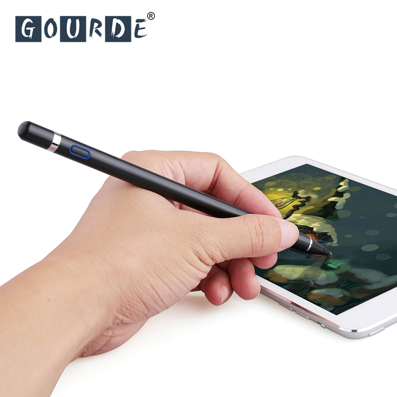 Stylus Pen For iPad Pro 9.7 10.5 12.9 For Apple Pencil For iPhone X 8 7 For iPad mini 1/2/3/4 For Xiaomi mi Pad /2/3 touch pen цены онлайн