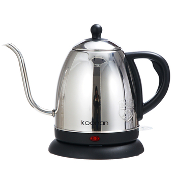 1L gooseneck Kettle Electric water Kettle  Stainless Steel For Drip Coffee Tea 1500W Off Automatically Automatic Water Teapot 4