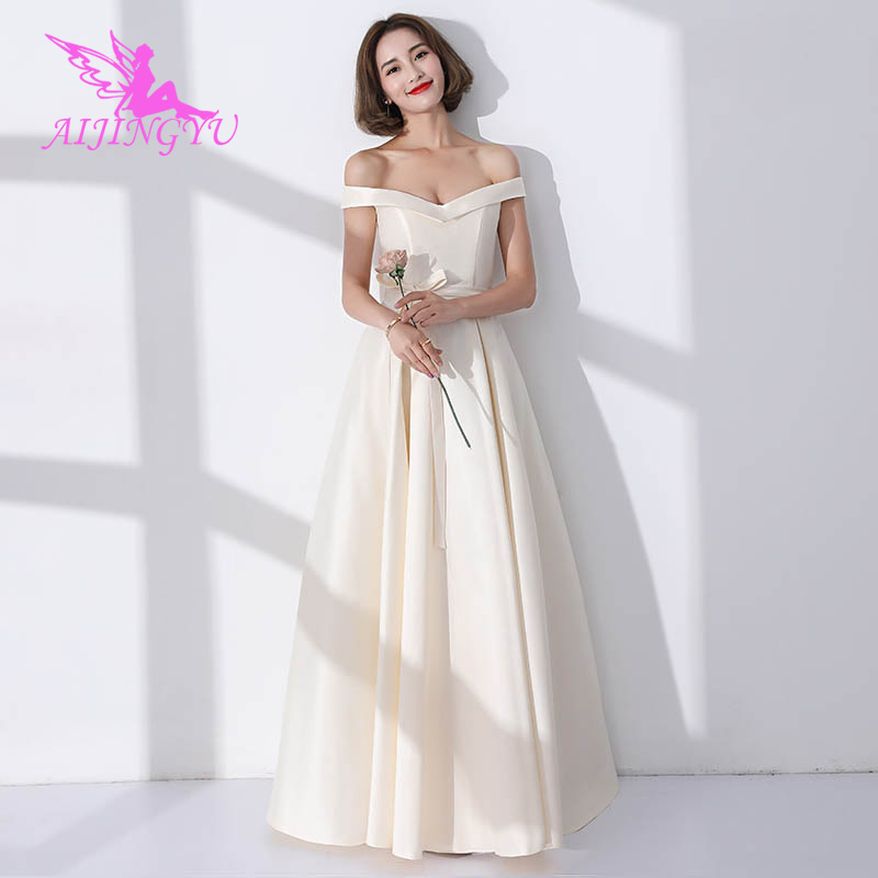 AIJINGYU 2018 hot sexy elegant   dress   women for wedding party   bridesmaid     dresses