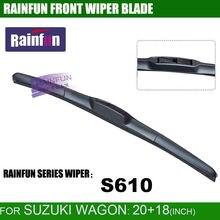RAINFUN специальный автомобиль стеклоочистителя для Suzuki Wagon, 20+ 18 дюймов Автомобильный Стеклоочиститель Авто мягкий стеклоочиститель, 2 шт. в партии