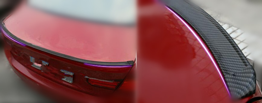 Car styling queue autocollant accessoires autocollants pour AUDI Audi S ligne A4 A3 A6 C5 Q7 Q5 A1 A5 80 TT A8 Q3 A7 R8 RS B6 Accessoires