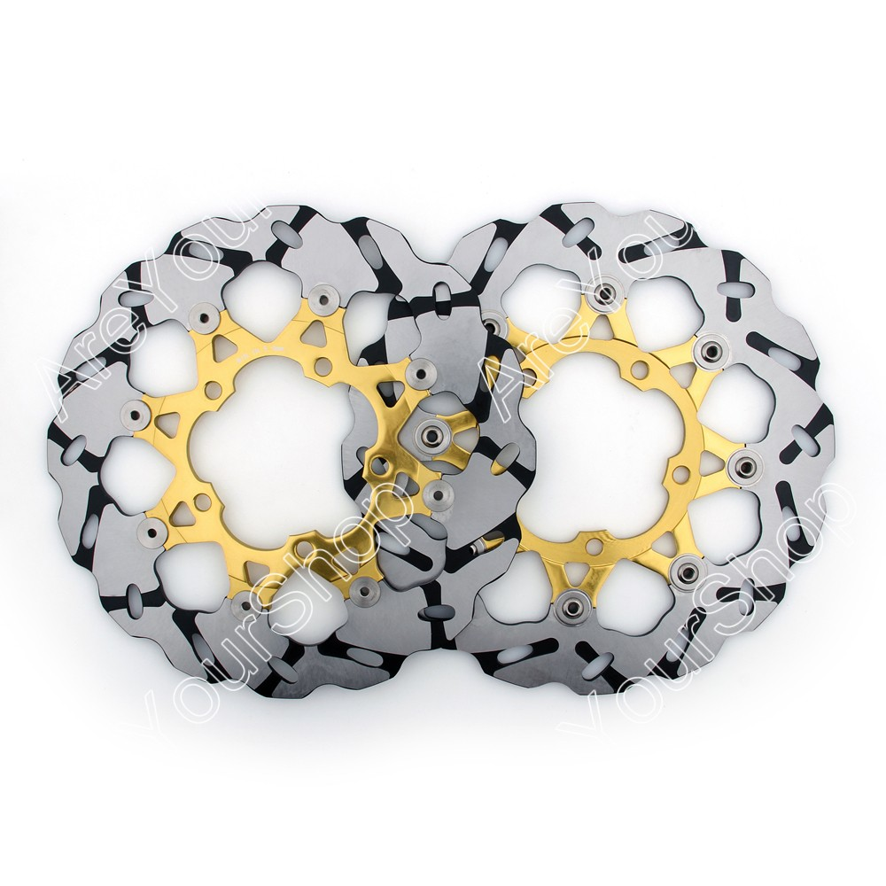 Motorcycle front brake disc rotor for suzuki gsxr 600 750 1000 m1800 r m1800 r2 black