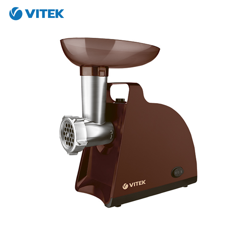Meat Grinder Vitek VT-3612 Electric set auger sausage stuffing zipper jiqi 400w household electric meat grinder multifounctional meat chopper for sausage vegetable electrical meat mincer