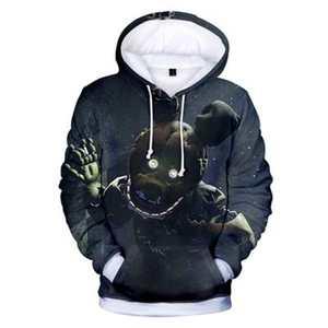 Image 3 - Novo outono 3d imprimir cinco noites em freddys moletom para meninos escola hoodies para meninos fnaf traje para adolescentes roupas esportivas
