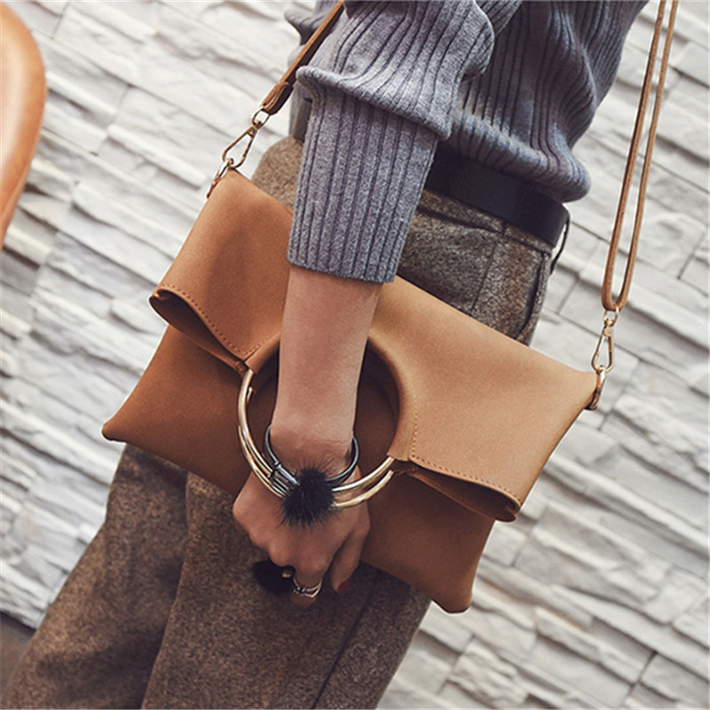 MIWIND Women's Clutch Bag handbags for Women Famous Luxury Brand Ring Evening Female Crossbody Messenger Bags TQB1153