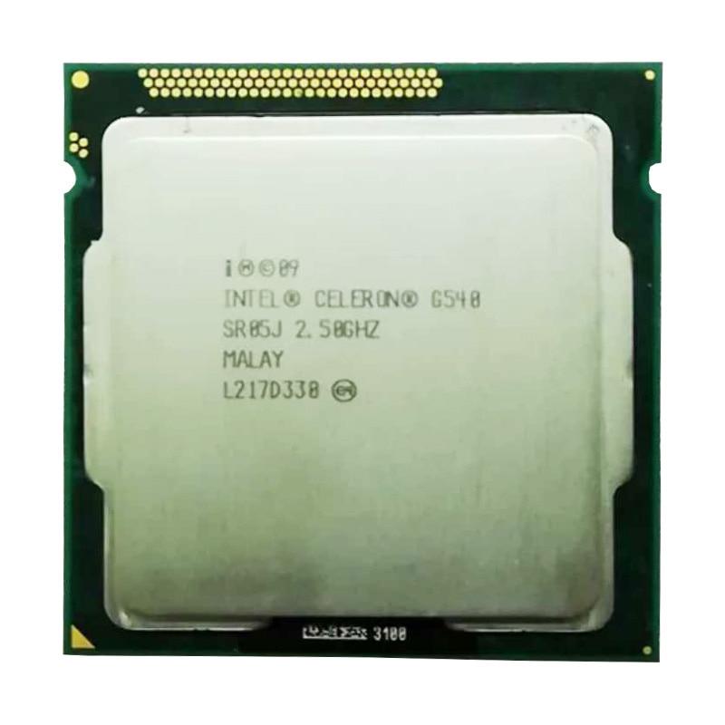 Intel Celeron G540 CPU 2M/2.50 GHz LGA 1155 TDP 65W H61 B75 81 B85 Motherboard Have A Pentium Dual Core G2030 2120 2130 Cpu Sale