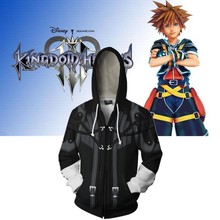 Kingdom Hearts Cosplay Costume Hoodie Anime Sweatshirts Men Women College