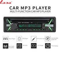 LaBo 12V Bluetooth Auto Car Radio 1DIN Stereo Audio MP3 Player FM Radio Receiver Support Aux Input SD USB MMC + Remote Control