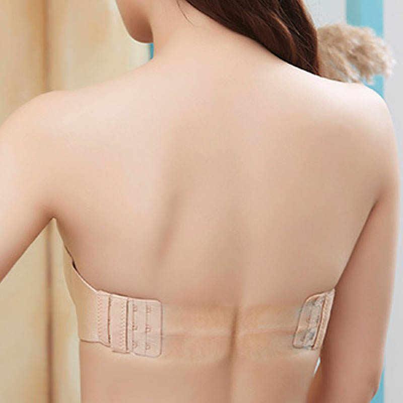 Sexy Bras Bralette Underwear Women Push Up Silicone Strapless Bra Invisible Wedding BraBras Underwired Back Band Bras