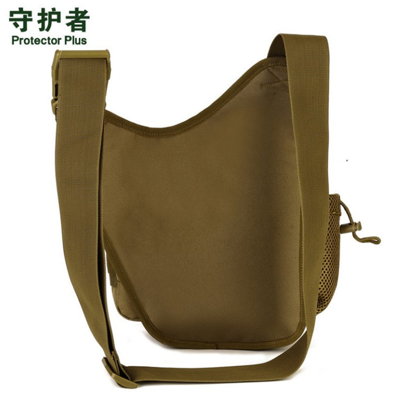 Mens bags Saddle bags Waterproof Shoulder Bag Military DSLR Camouflage Camera Pack Women Men Chest Pack Free Shipping