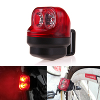 Cycling Bicycle Lights Bike Bicycle Accessories Cycling Friction Generator Dynamo Tail Lights Set Safety No Battery