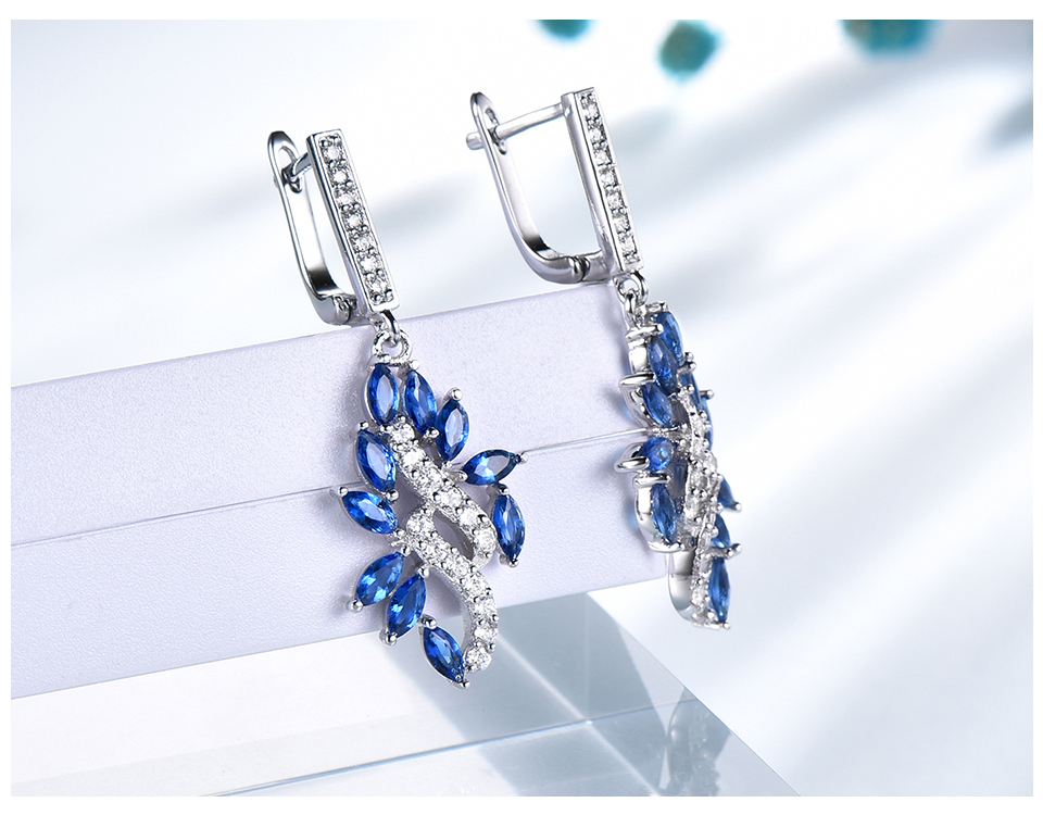 UMCHO-Sapphire--925-sterling-silver-earrings-for-women-EUJ088S-1pc (6)