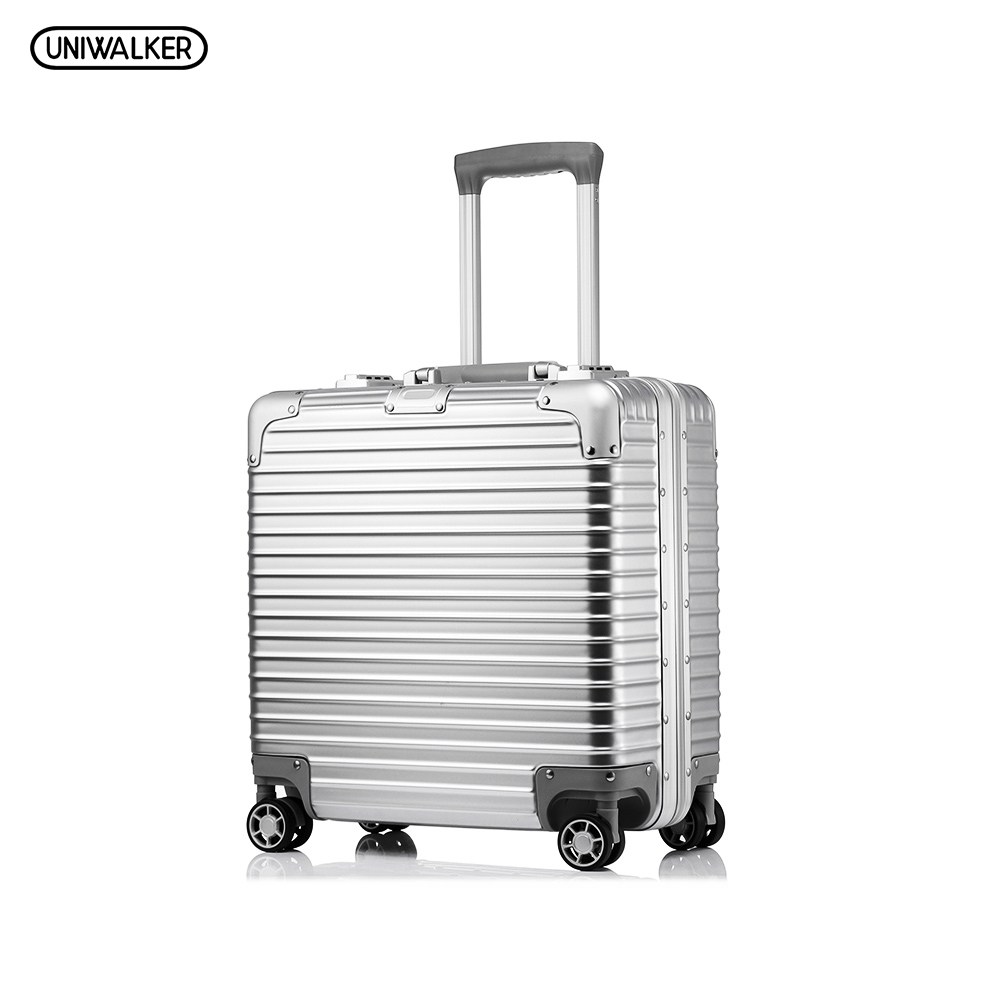 PC+ABS Suitcase,18 inch High-quality Anticollision Rolling Luggage,TSA Lock travel Trunk Hardside luggage 19inch leopard pattern hardside abs pc suitcase rolling luggage