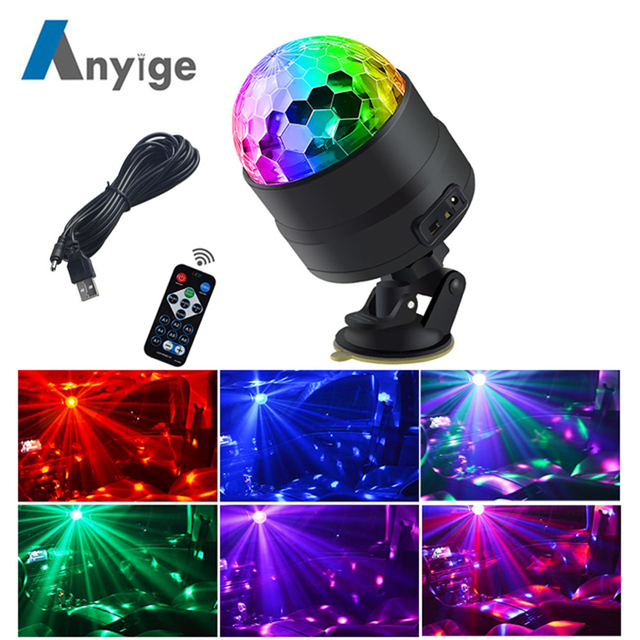 4 In 1 Car Inside Atmosphere L 48 Led Interior Decoration Lighting Rgb Wireless Remote Control 5050 Chip 12v Charge Charming Truck Parts