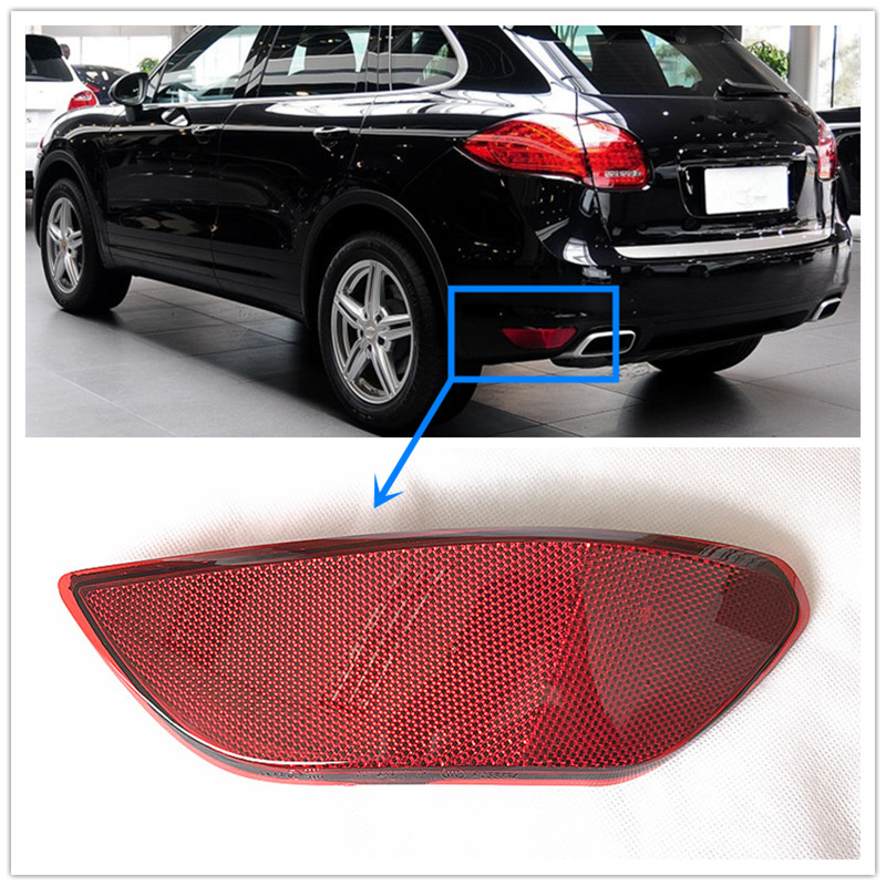 1PCS red rear bumper rear bumper lamp reflector lamp reflector for Porsche after the Cayenne 2011-2014 958 631 105 00 106 00